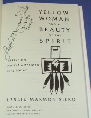 essays yellow woman leslie marmon silko Summary yellow woman, a short story by native american writer leslie marmon silko, was first published in 1974 yellow woman is both the title to this story as well as the name of the pueblo legend that has been handed down through generations of native oral tradition.